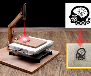 DiY Mini Laser Engraver Machine