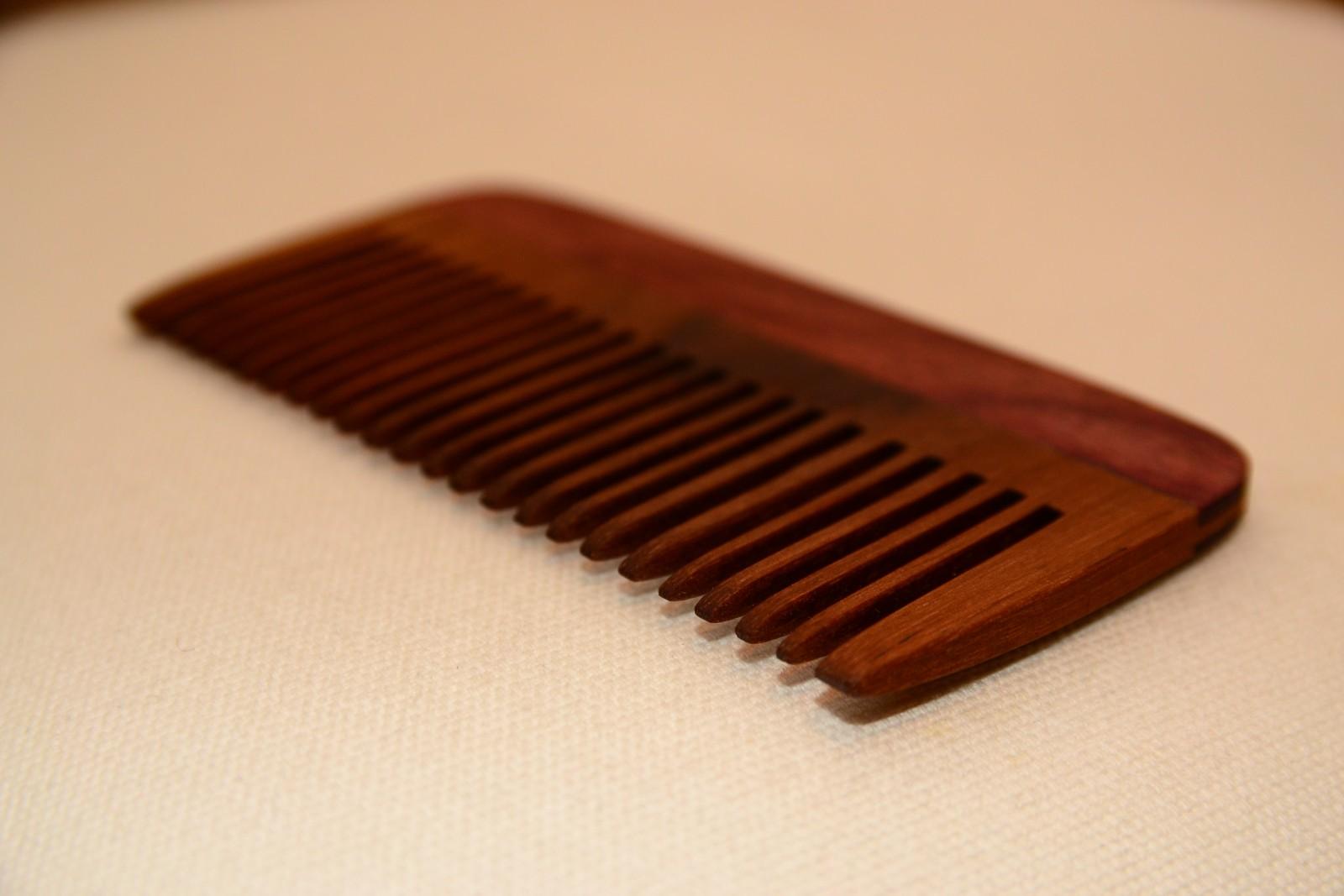 Hardwood comb