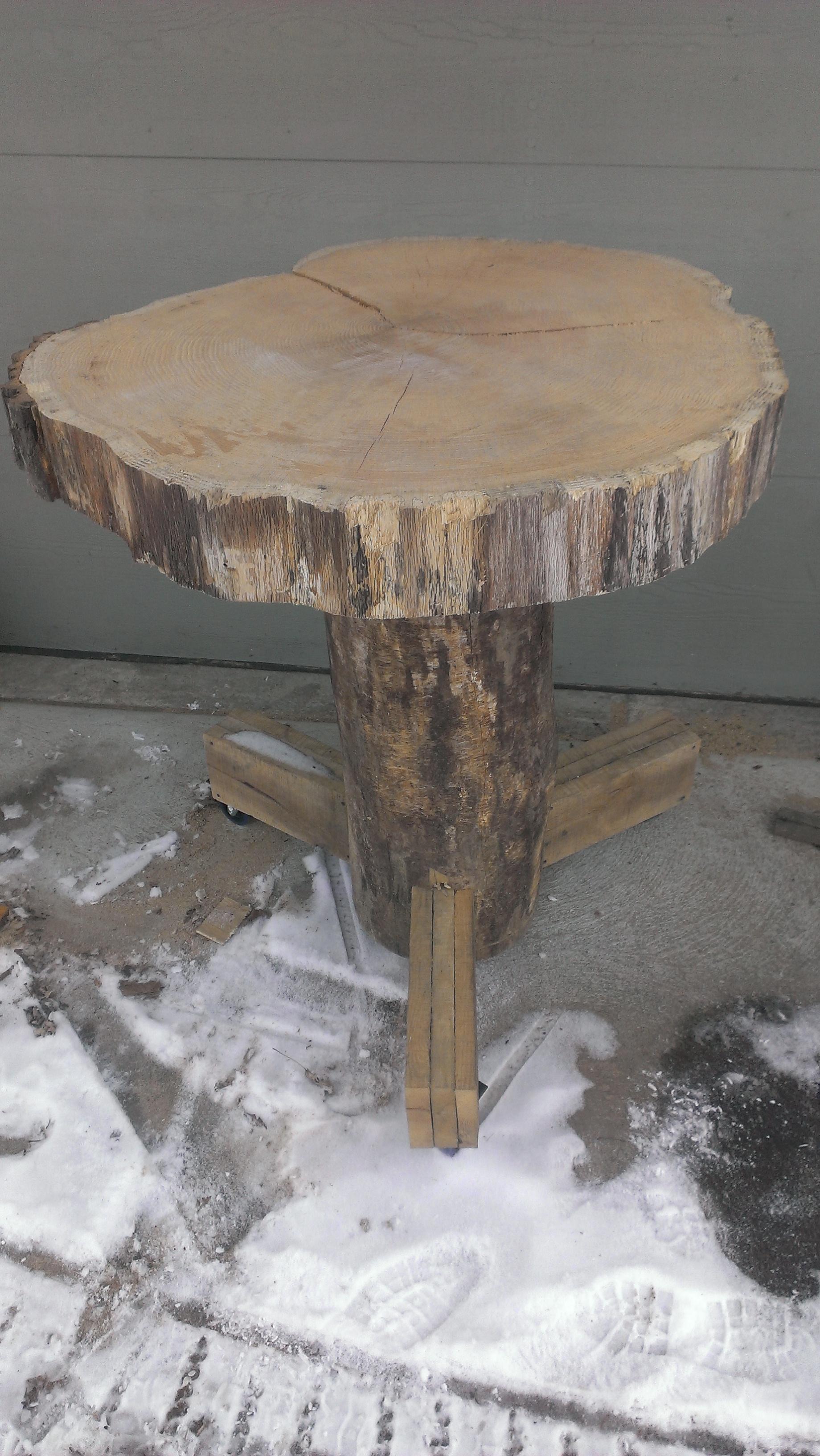 Lumberjack Bar Table