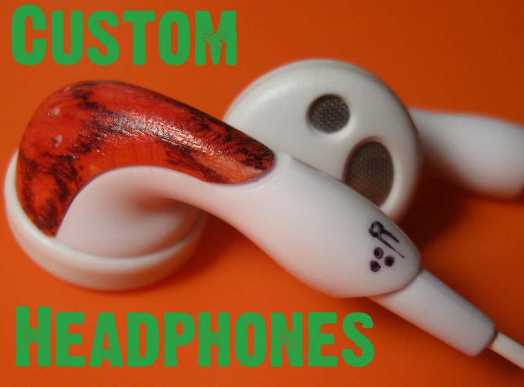Customise sansa headphones.