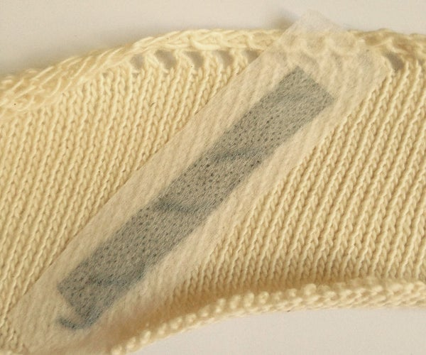 Soft Wearable Circuitry on Sweater Knits