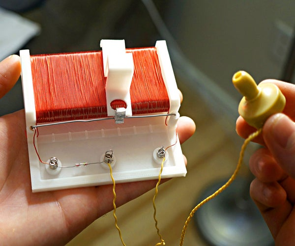 3D Printed Radio That Works!! Easy to Make