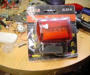 Joule Thief Bicycle Light (back)