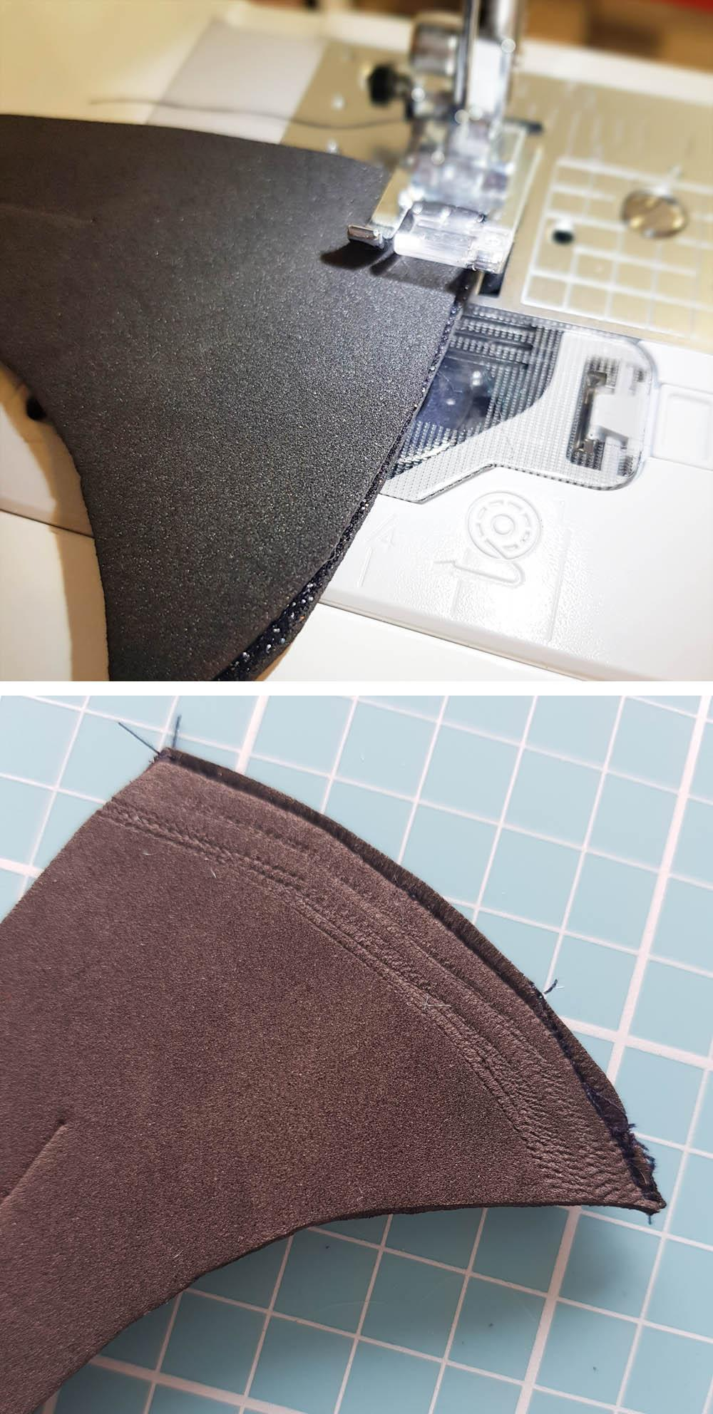 Sew Your Hair Vampire Peak Headband Panel