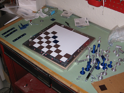 Cybergeek's DIY Chess Set