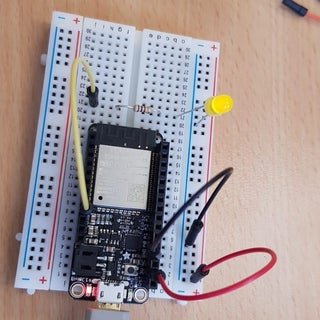 Blinking an LED With ESP32