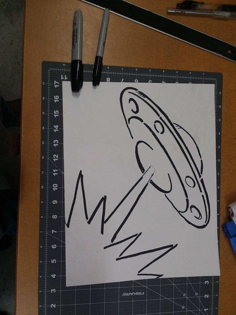 Cutting and Finishing the Stencils