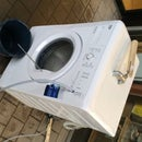 The Foam Making Washing Machine.