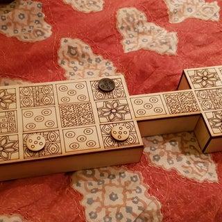 The Royal Game of Ur (Game of Twenty Squares)