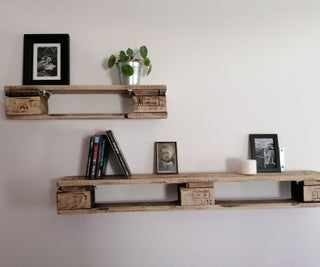Your Rustic Charmed Pallet Shelf