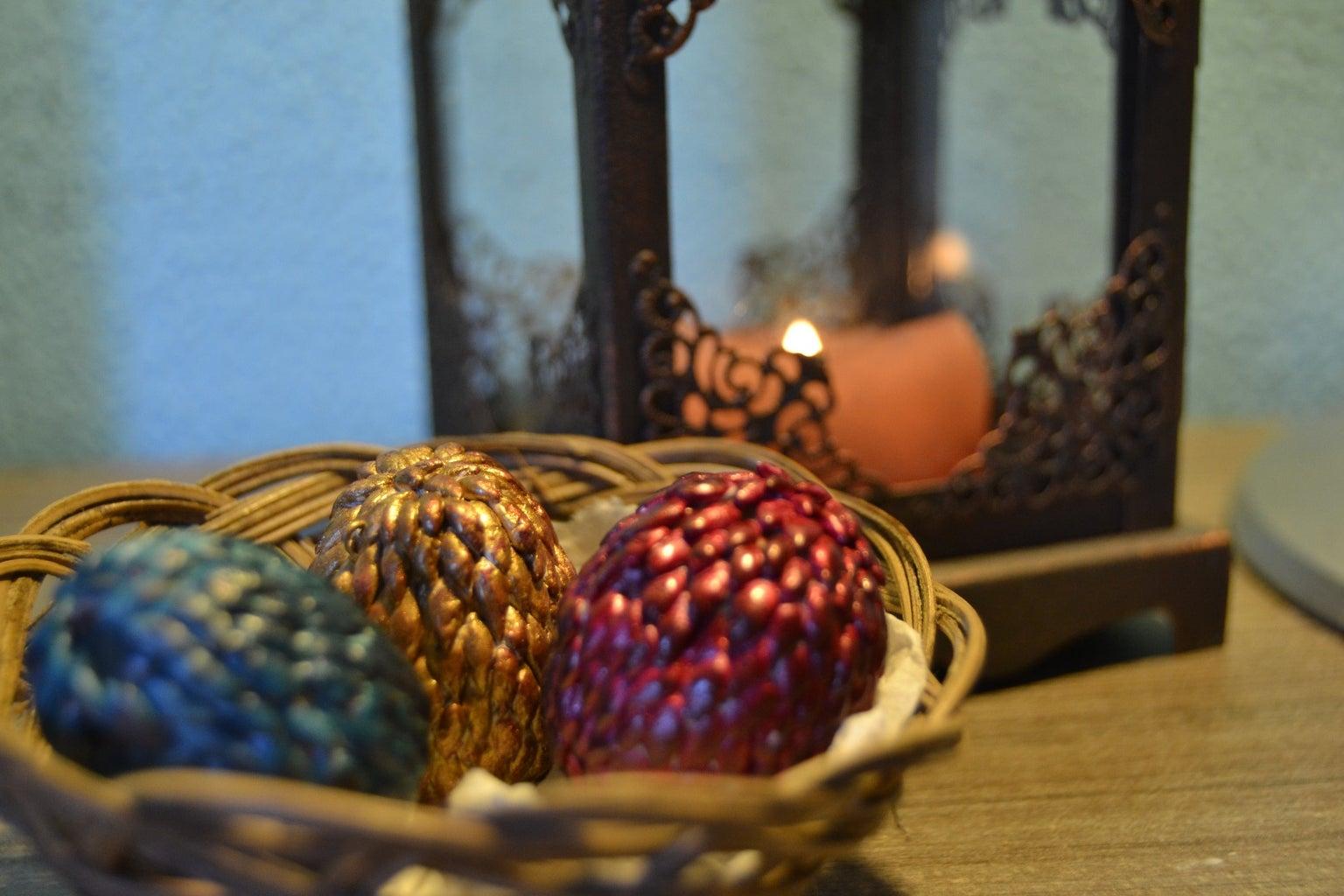 Dragon Eggs Keyholder