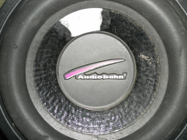 How to Repair a Cracked Speaker Cone.