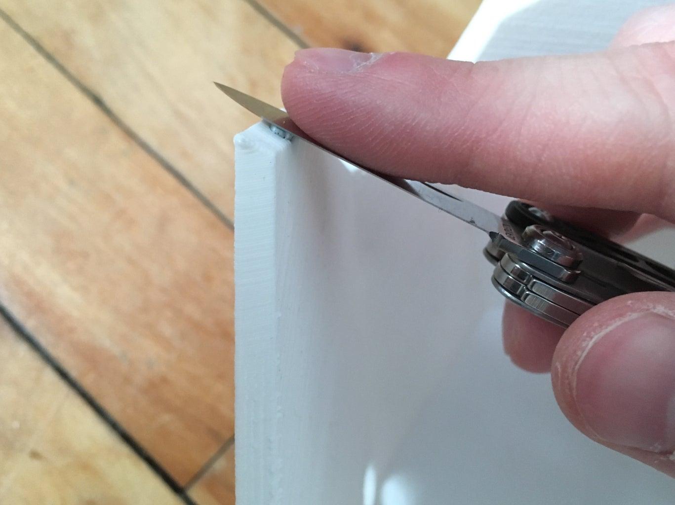 Sanding & Adding the Magnets