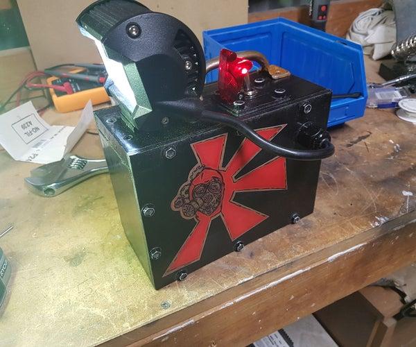 Zombie Apocalypse Electric Lantern