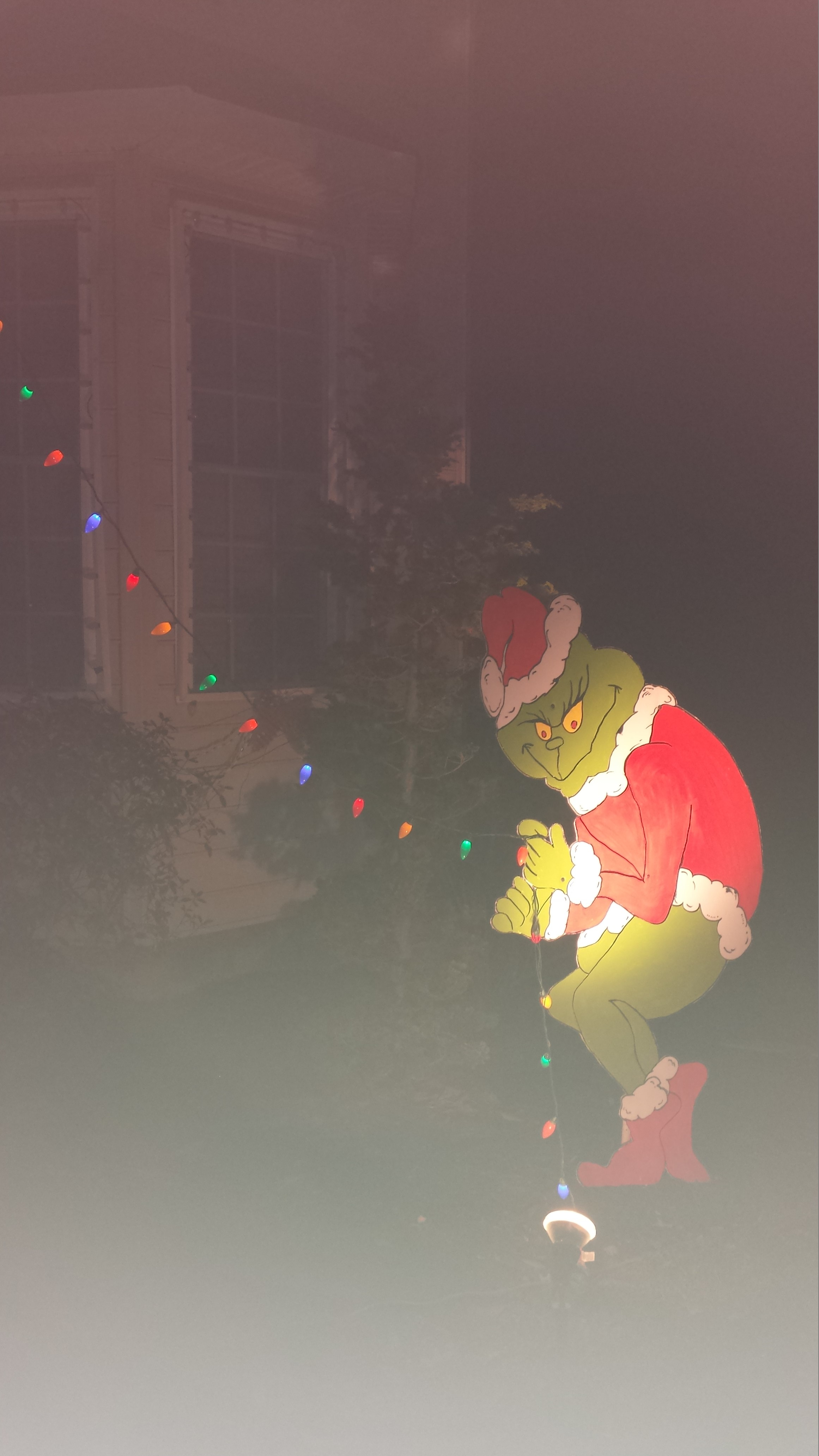 The Grinch Stole My Christmas Lights 5 Steps Instructables