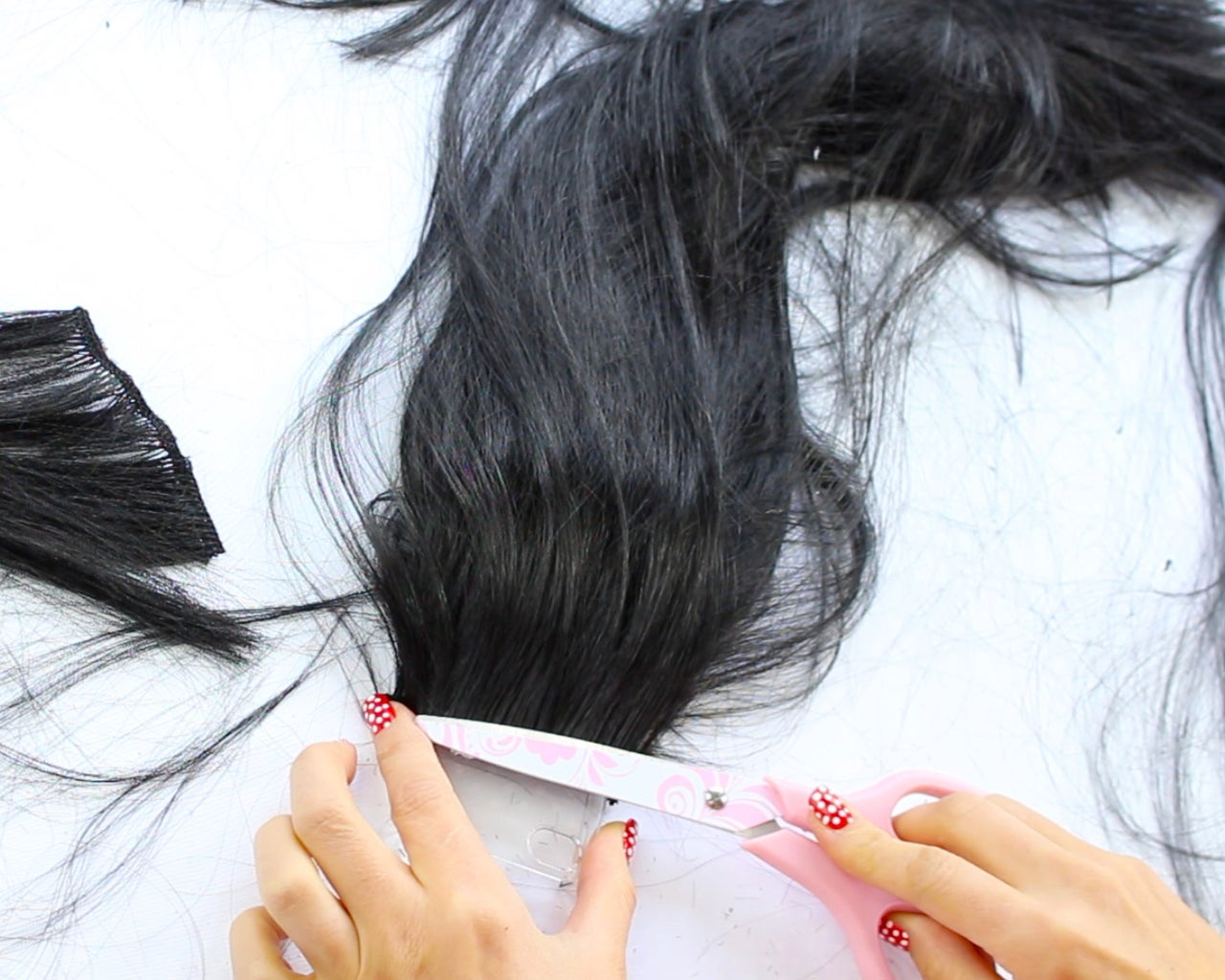 Gluing the Hair Sections