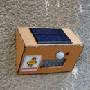 DIY Solar Motion Sensor Security Light