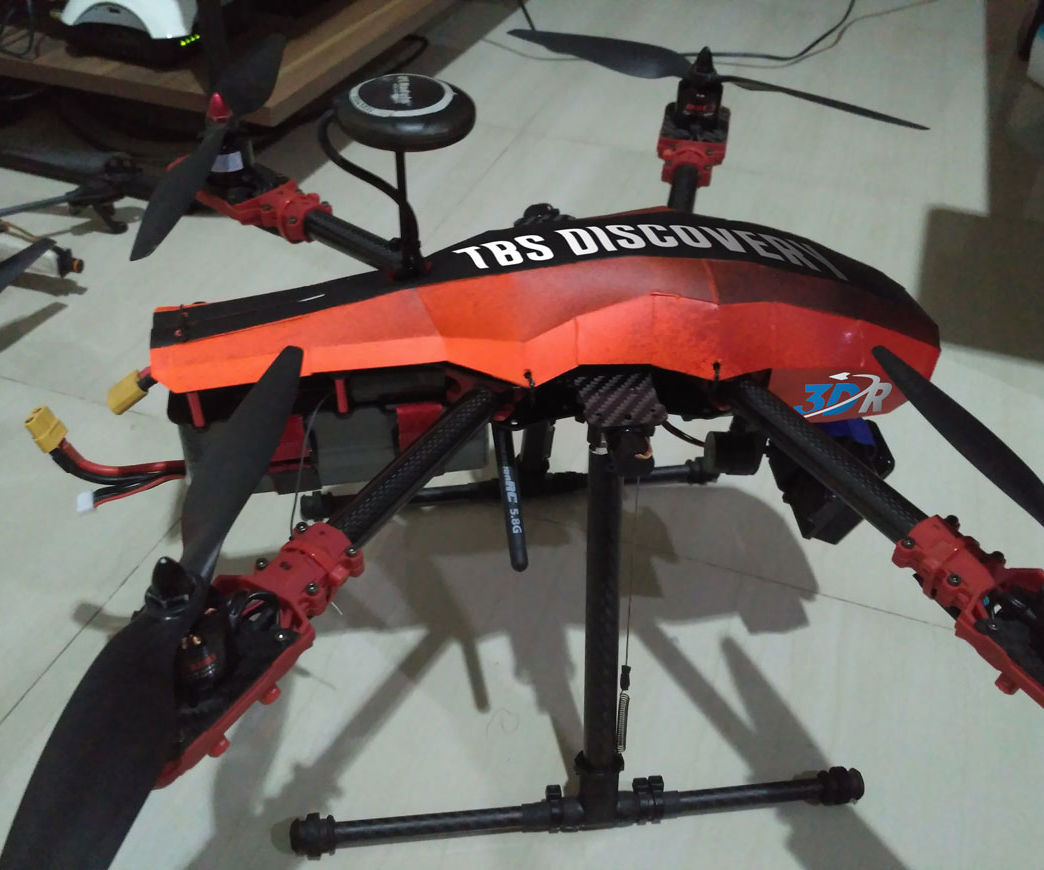 Making Drone Canopy Without Plastic Forming...
