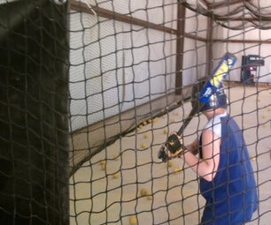 All Steel Enclosed Batting Cage