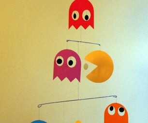 Pac Man Paper Mobile