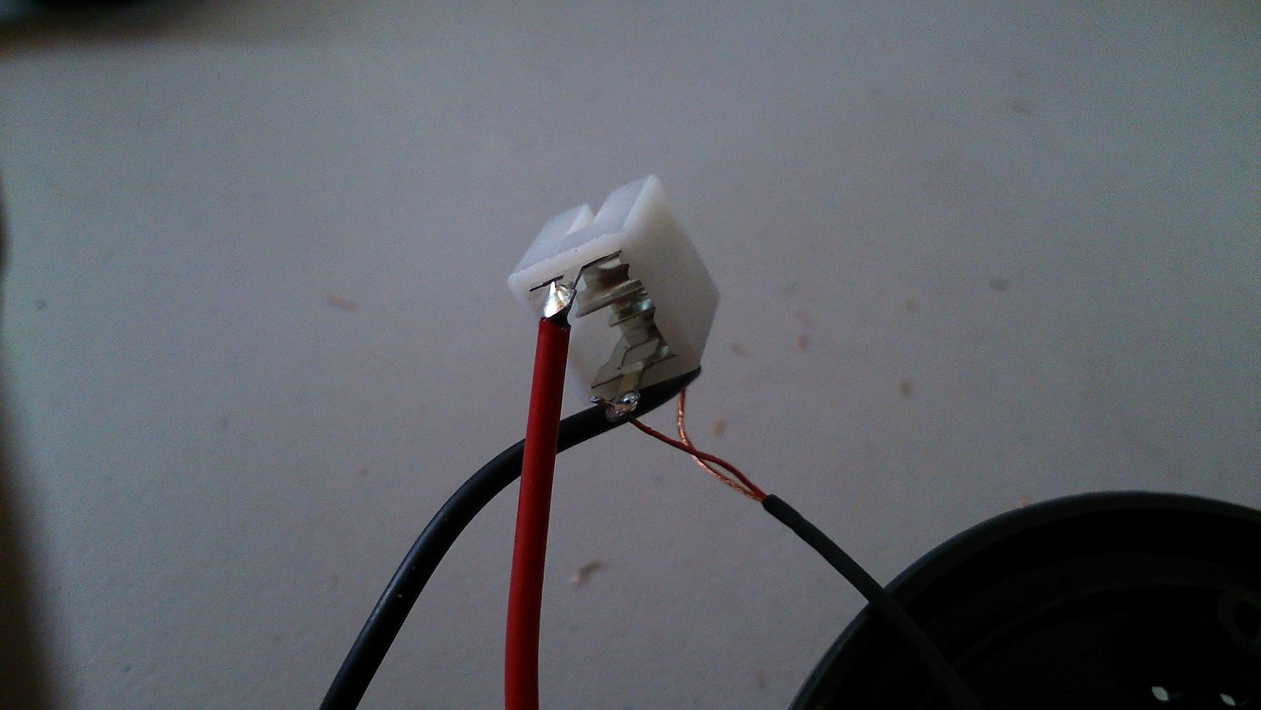 Soldering Wires to 3.5mm Stereo Jack