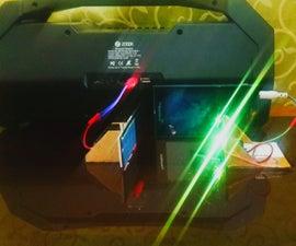 Li-Fi [Audio Transmission Through Light]
