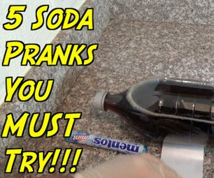 5 Soda Pranks You Can Do at Home!