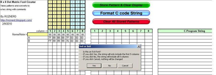 Format C Code String