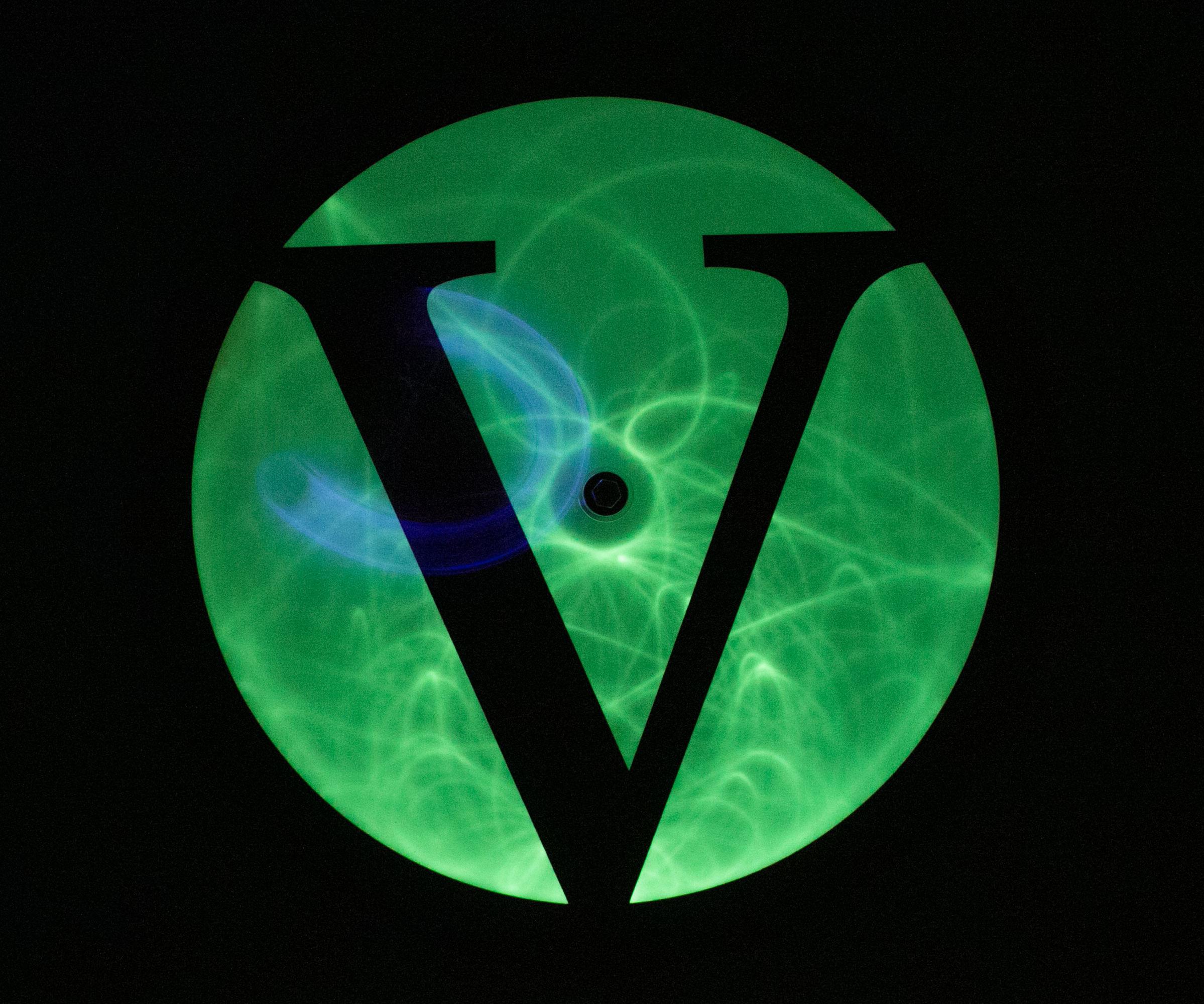 Glow in the Dark Double Pendulum