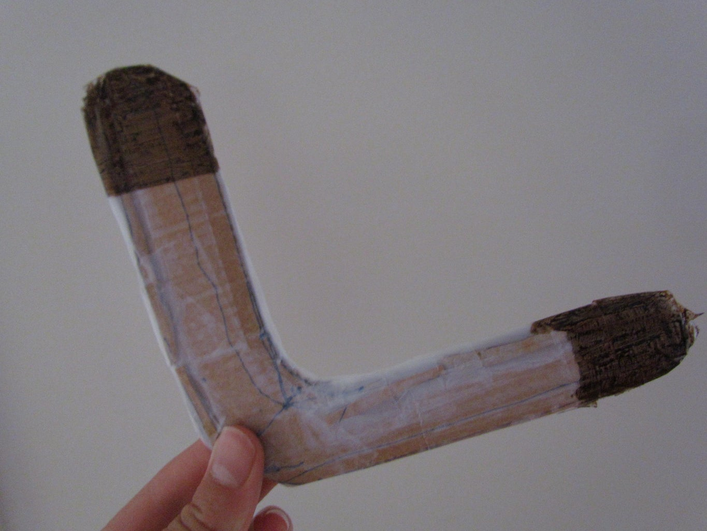 DIY Cardboard Boomerang!