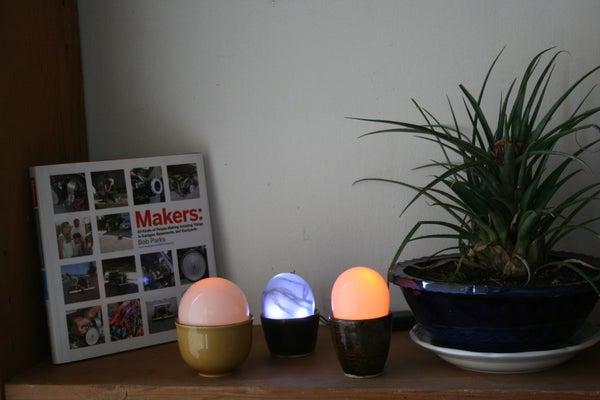 Easter Egg LED Lamp