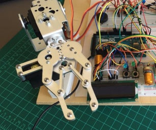 Programmed Robot Arm