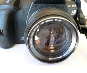 Converting Konica AR Lenses to Olympus DSLR