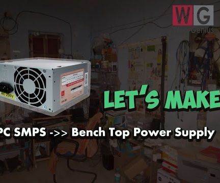 Modify PC SMPS as Benchtop Power Supply
