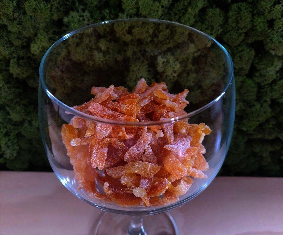 Easy 2 Ingredient Candied Orange