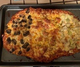 Easy Home Made Pizza