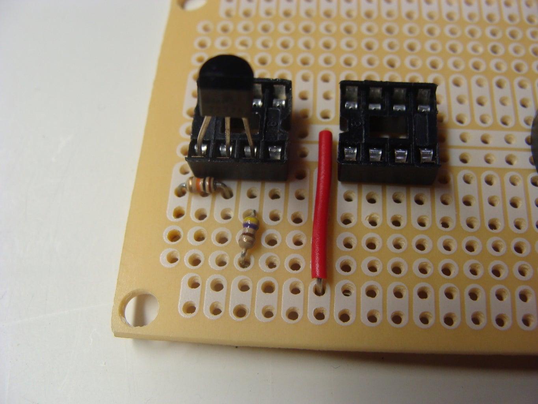 Place the Resistors