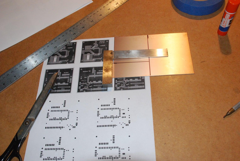 Prepare Copper Coated Board