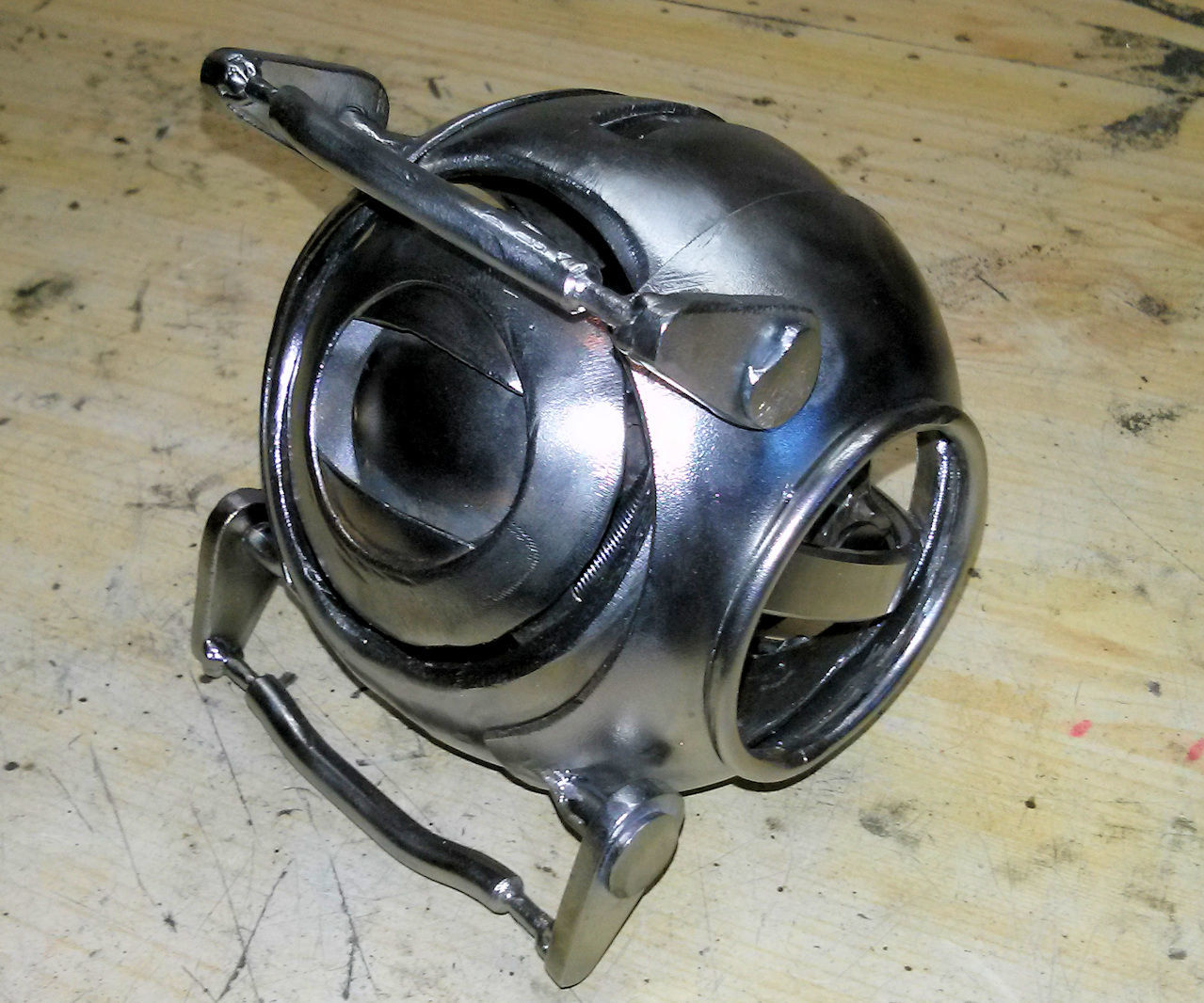 Welded Wheatley from Portal game