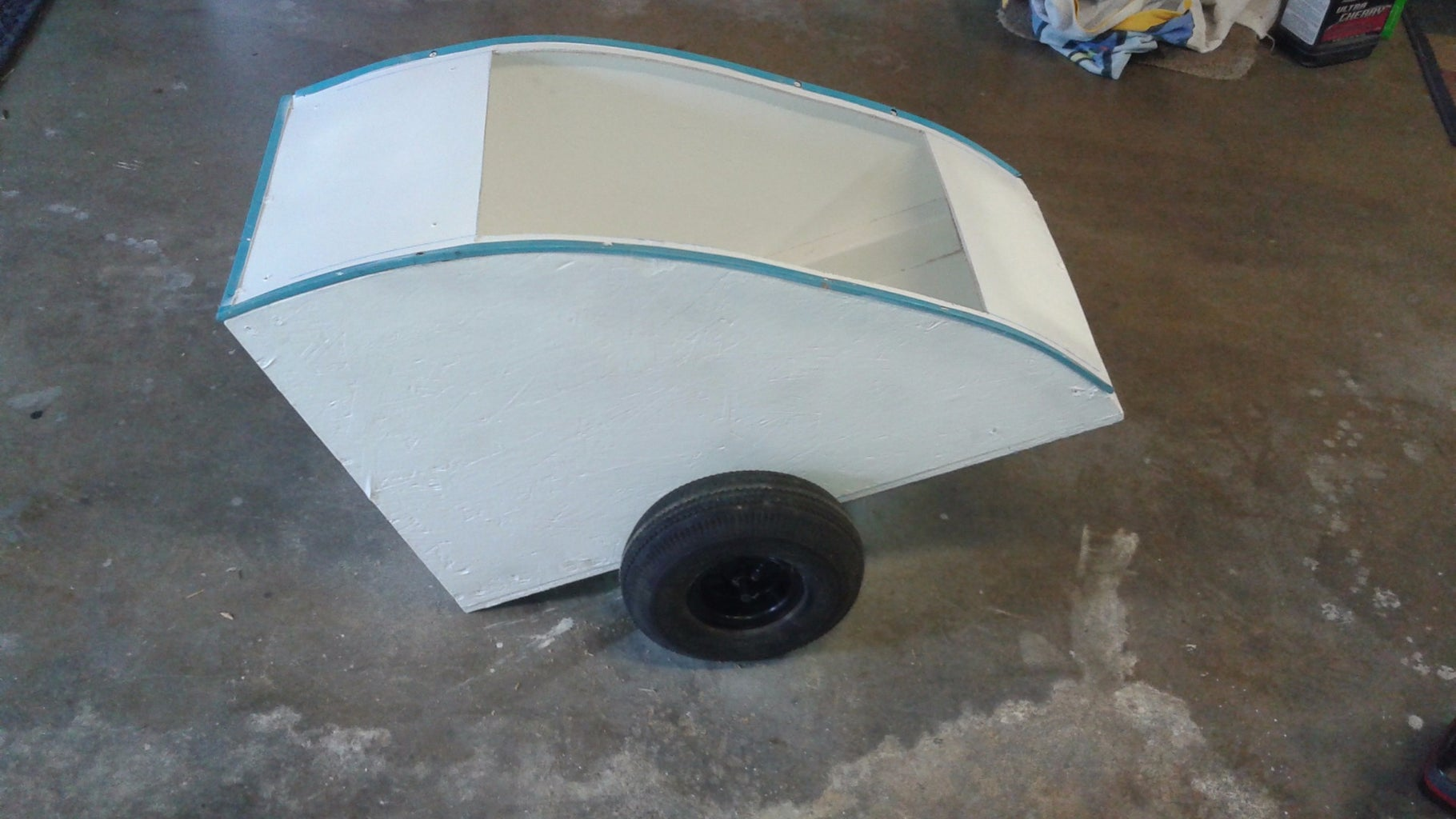 Cut Out the Door Hole and Plastic Bumper Panel.