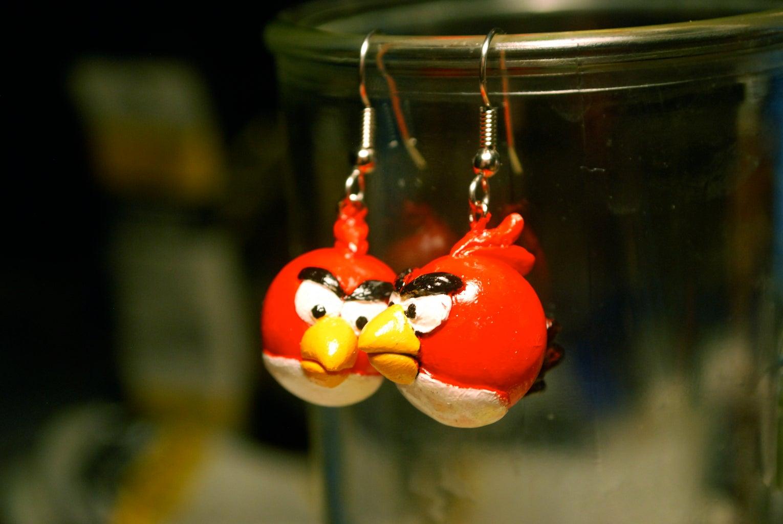 Angry Birds Earrings