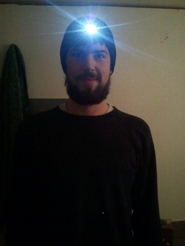 Headlamp Winter Hat