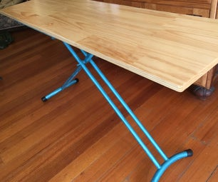 Portable Height Adjustable Table or Standing Desk