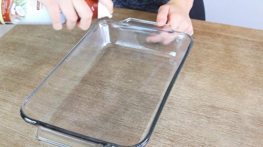 Prepare Baking Dish
