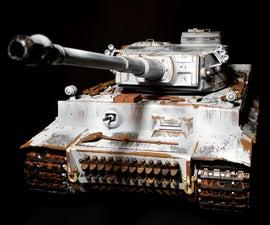 Weathering Tiger 1 Rc Tank