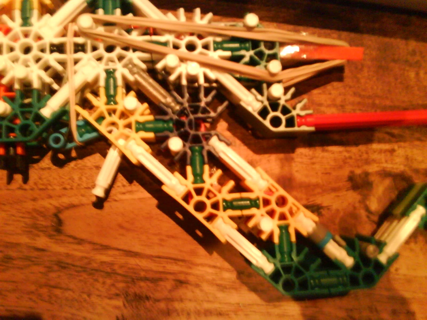 Knex Assault Rifle (with Detachable Mag)