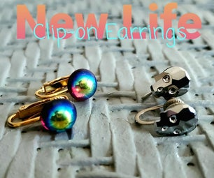 Giving New Life to Clip-on Earrings and Screw-back Earrings