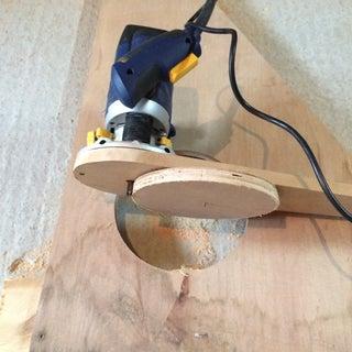 Making a Circle Cutting Jig