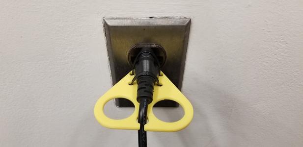 PLA Power Cord Pulling Aid