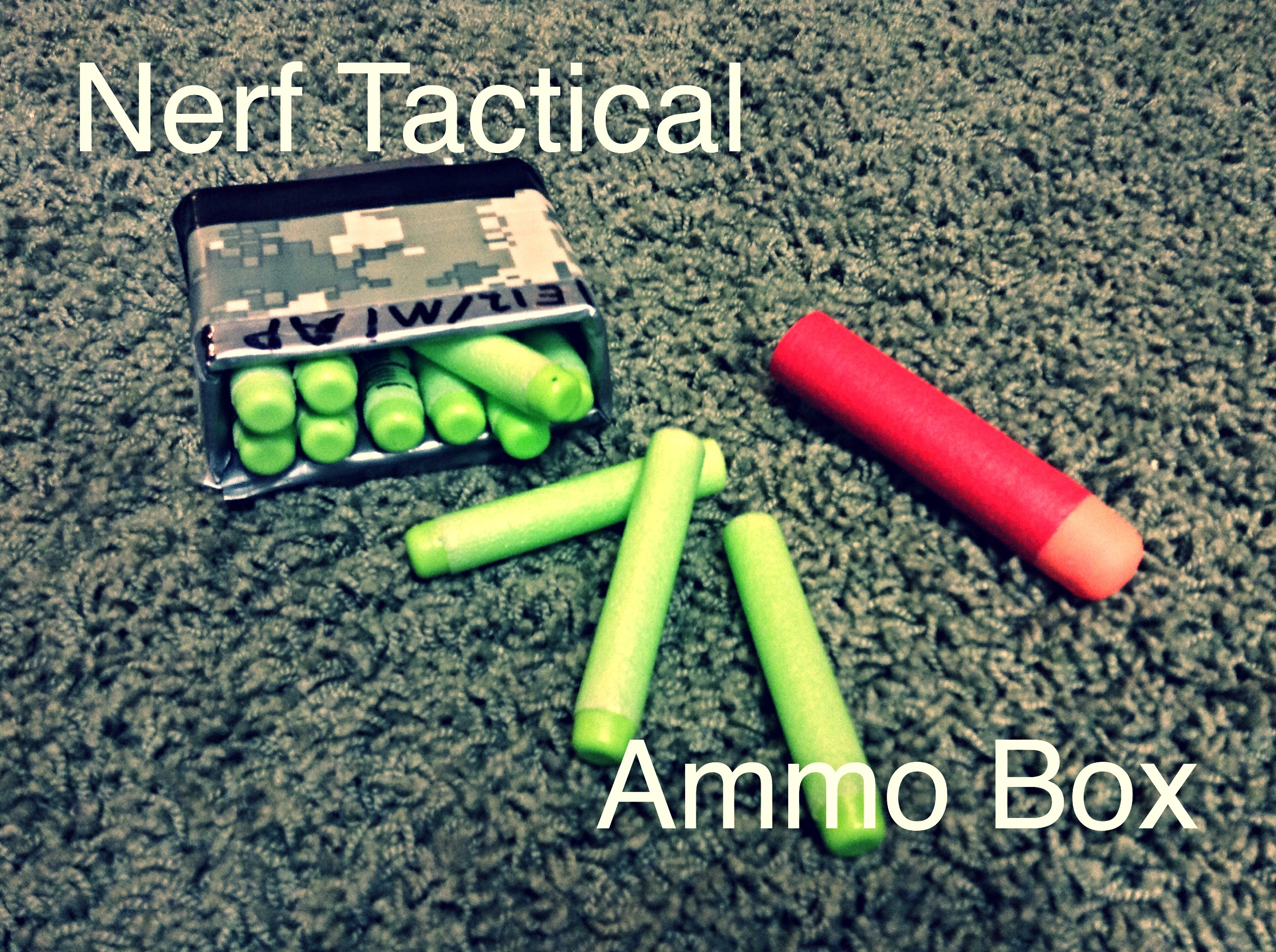 Nerf Tactical Ammo Box